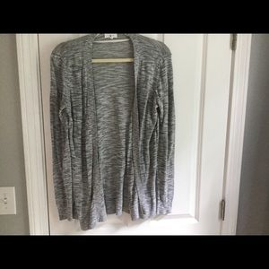 Lou and grey light grey and white summer sweater